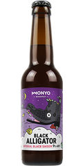 Monyo Black Alligator