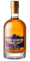 Swiss Mountain Whisky Ice Label *