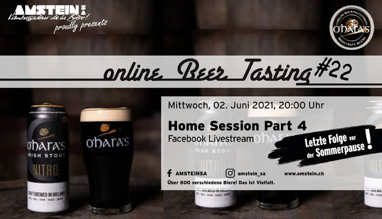 Online Beer Tasting N22 Home Session Part 4
